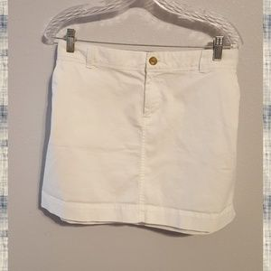 Old Navy White Mini Skirt